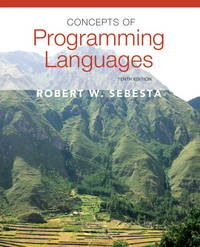 image of Concepts of Programming Languages (10th Edition)
