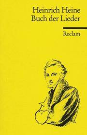 Buch Der Lieder By Heine Heinrich