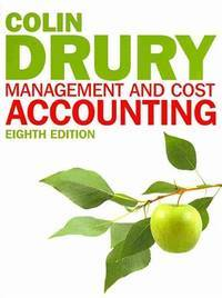 Management and Cost Accounting (with CourseMate and eBook Access Card) by Colin Drury - Paperback - 2012-04-05 - from Books Express and Biblio.com
