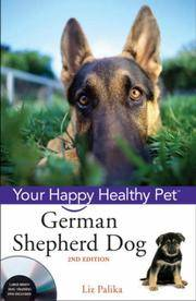 image of German Shepherd Dog: Your Happy Healthy Pet (with DVD)