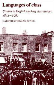 image of Languages of Class: Studies in English Working Class History 1832-1982