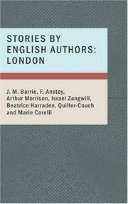image of Stories by English Authors: London