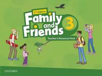 Family & Friends: Level 3: Teacher's Resource Pack - Used Books