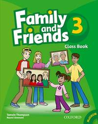 Family And Friends: 3: Class Book And MultiROM Pack - Used Books