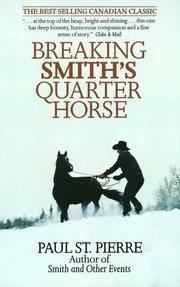 Breaking Smith's Quarter Horse.