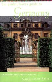 The Garden Lover's Guide to Germany (Garden Lover's Guides to)