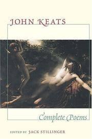 Complete Poems by  Jack  John; Stillinger - Paperback - from Borgasorus Books, Inc and Biblio.com