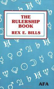 RULERSHIP BOOK: A Directory Of Astrological Correspondences (reissue)