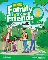 Family And Friends: Level 3: Class Book With Student MultiROM - Used Books