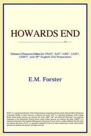 image of Howards End (Webster's Thesaurus Edition)