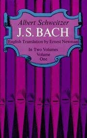 J. S. Bach, Volume One