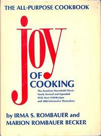 Joy of Cooking by Irma Von Starkloff Rombauer; Marion Rombauer Becker - Hardcover - 1975 - from Carly Wall, StoneyPine Books and Biblio.co.uk