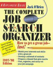 image of The Complete Job Search Organizer