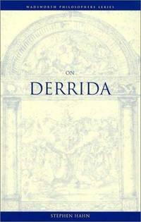 On Derrida (Wadsworth Philosophers Series)