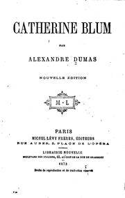 image of Catherine Blum (Les Cahiers Rouges t. 283) (French Edition)