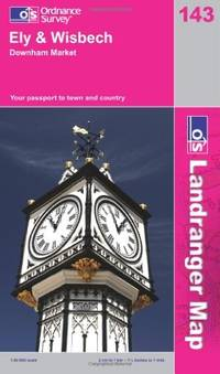 image of Ely, Wisbech and Downham Market: Market Deeping and Chatteris (OS Landranger Map)