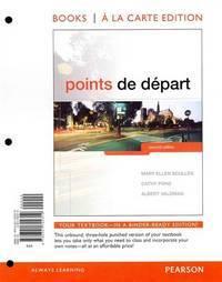 Points de d�part, Books a la Carte Edition