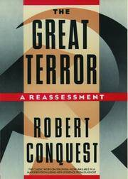 The Great Terror: A Reassessment by  Robert Conquest - Paperback - 1991-11-21 - from BooksEntirely and Biblio.com