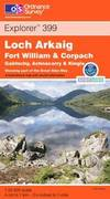 image of Loch Arkaig (Explorer Maps)