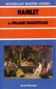 Macmillan Master Guides: Hamlet By William Shakespeare.