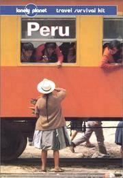 Lonely Planet Peru (3rd ed.) [Paperback] Rachowiecki, Rob