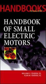 Handbook of Small Electric Motors (McGraw-Hill Handbooks)