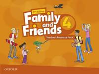 Family And Friends: Level 4: Teacher's Resource Pack - Used Books