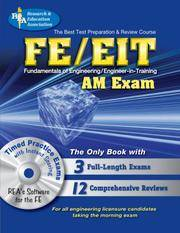 FE - EIT: AM (Engineer in Training Exam) w/CD-ROM (Engineering (FE/EiT) Test Preparation)