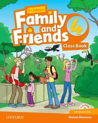 Family And Friends: Level 4: Class Book With Student MultiROM - Used Books