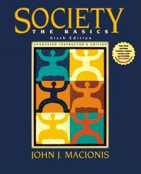 image of Society: The Basics Annotated Instructor's Edition