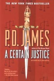 image of A Certain Justice (Adam Dalgliesh Mystery Series #10)
