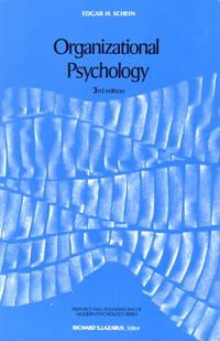 Organizational Psychology (3rd Edition) by Edgar H. Schein - 1979