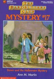 Dawn And The Halloween Mystery (The Baby-Sitters Club Mystery) by Ann M. Martin - Paperback - 1994-10-01 - from Ergodebooks and Biblio.com