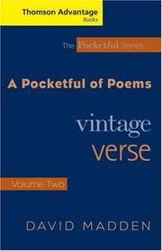 A Pocketful of Poems: Vintage Verse Vol. II (Thomson Advantage Books, The Pocketful Series)