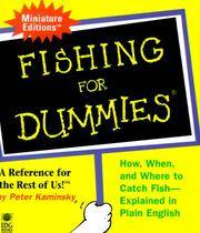 Fishing for Dummies: a Reference for the Rest of Us