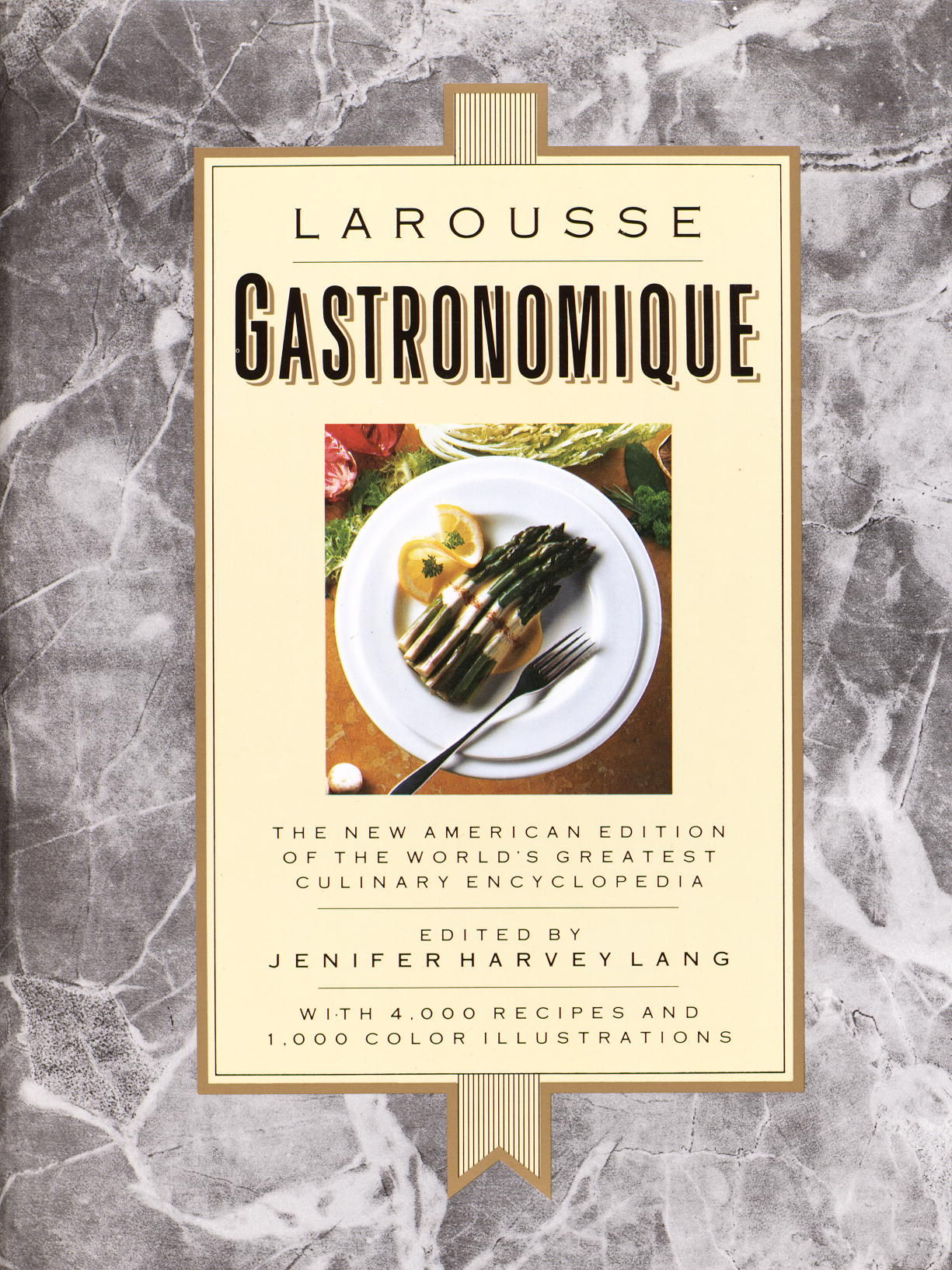 Larousse gastronomique the encyclopedia of food wine cookery book club edition by ph a - Edition larousse cuisine ...
