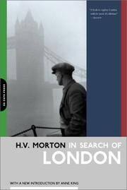 image of In Search Of London (H.V. Morton)