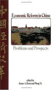 Economic Reform in China: Problems and Prospects