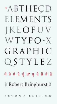 The Elements of Typographic Style (2nd edn)