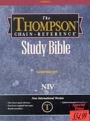 image of Thompson Chain Reference Bible (Style 809burgundy) - Regular Size NIV Frank Charles Thompson