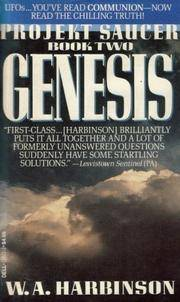 GENESIS (Projekt Saucer) by  W.A Harbinson - Paperback - 1981-12-15 - from Orion LLC (SKU: 0440128323-3-16666803)