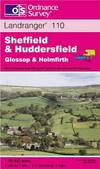 image of Sheffield and Huddersfield, Glossop and Holmfirth (Landranger Maps)