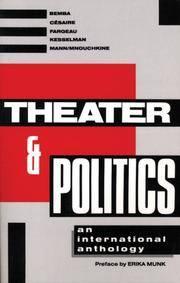 Theater and Politics: An International Anthology (Tibetan Translation Series)