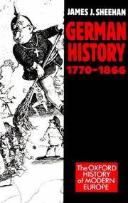 German History 1770-1866 (Oxford History of Modern Europe)