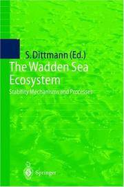 WADDEN SEA ECOSYSTEM: STABILITY PROPERTIES AND MECHANISMS