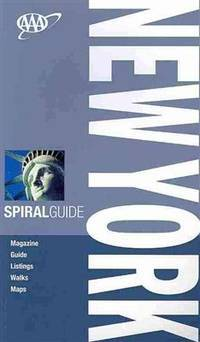 AAA Spiral New York (AAA Spiral Guides: New York)