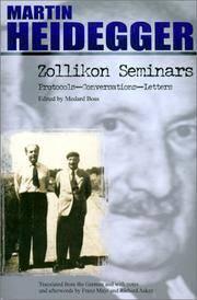 image of Zollikon Seminars: Protocols - Conversations - Letters