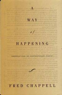 A Way of Happening: Observations of Contemporary Poetry