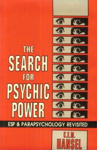 image of The Search for Psychic Power: Esp_Parapsychology Revisited
