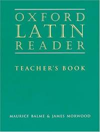 image of Oxford Latin Reader: Teacher's Book